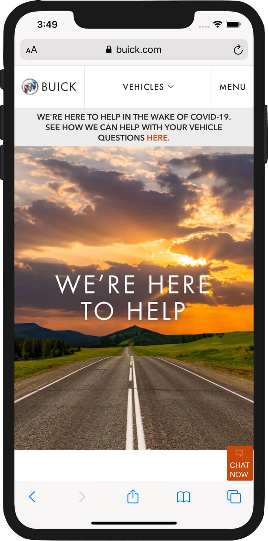 Buick.com Mobile