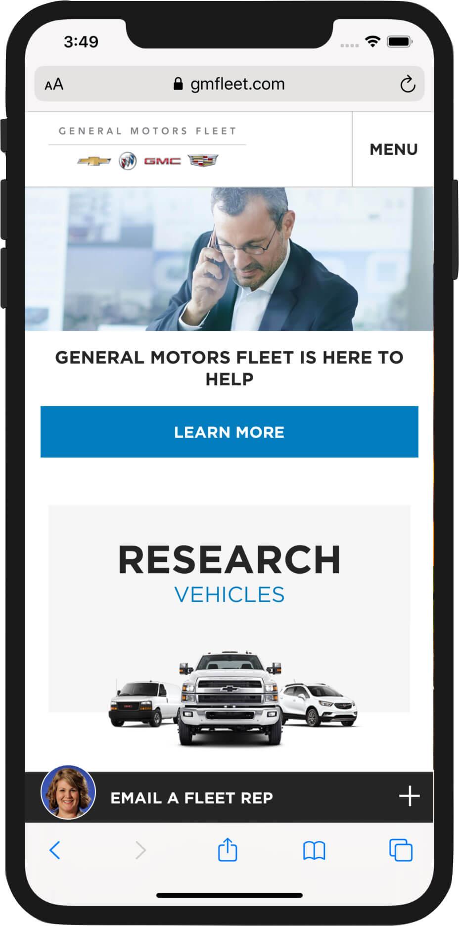 GMFleet.com Mobile