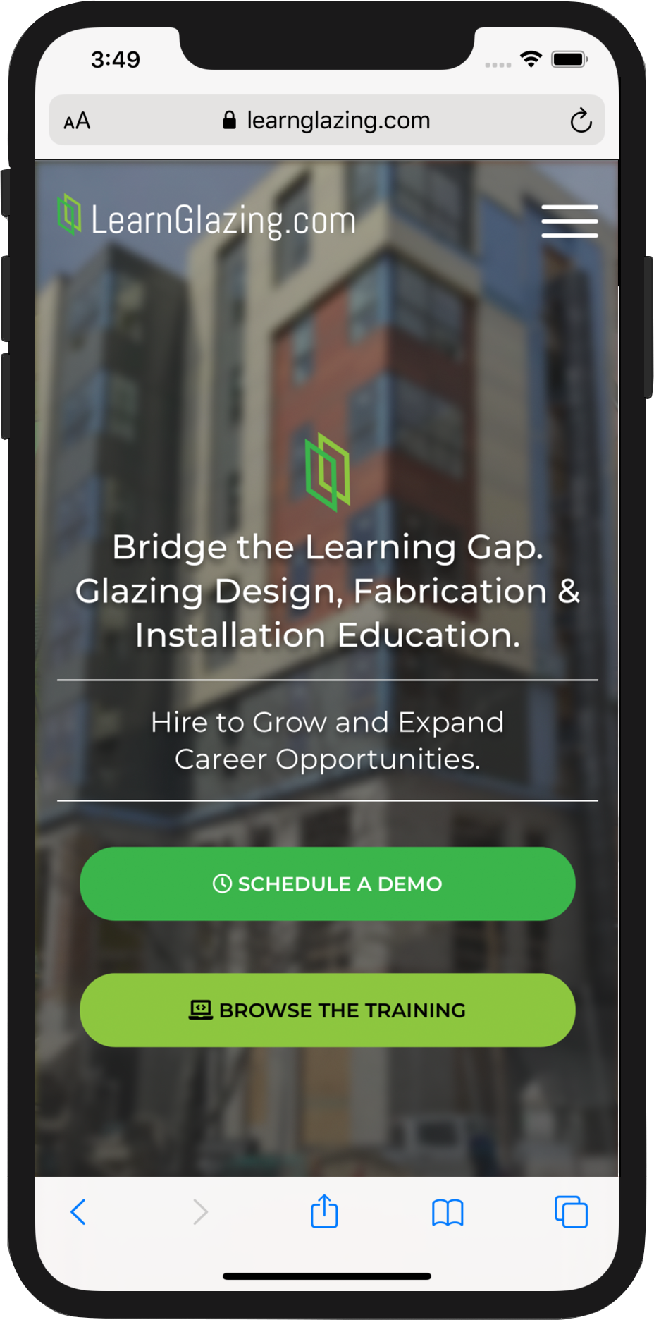 LearnGlazing.com Mobile